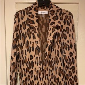 Beautiful Cheetah Print Cardigan